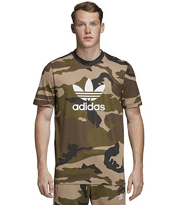 tričko adidas Originals Camo - Multicolor/Utility Black