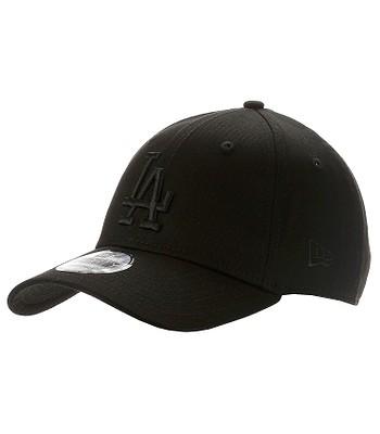 czapka New Era 9FO Snapback MLB Los Angeles Dodgers - Black/Black