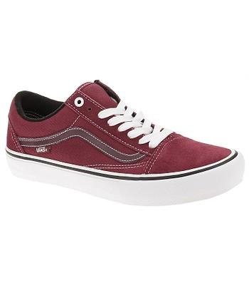 shoes Vans Old Skool Pro - Rumba Red/True White - men´s