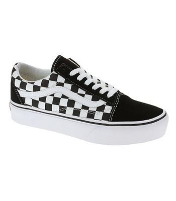 topánky Vans Old Skool Platform - Checkerboard/Black/True White