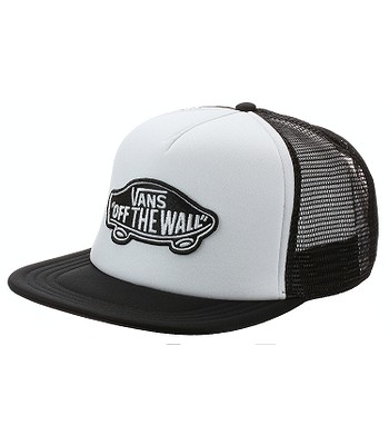czapka z daszkiem Vans Classic Patch Trucker - White/Black