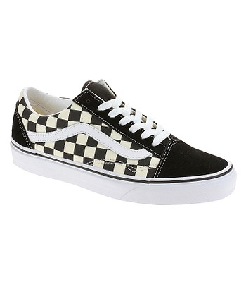 chaussures Vans Old Skool - Primary Check/Black/White