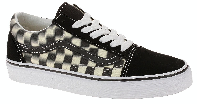 shoes Vans Old Skool - Blur Check/Black
