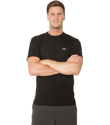 T-shirt Vans Left Chest Logo - Black/White