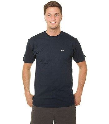 T-Shirt Vans Left Chest Logo - Navy/White - men´s