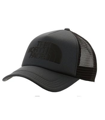 kšiltovka The North Face TNF Logo Trucker - Asphalt Gray/TNF Black