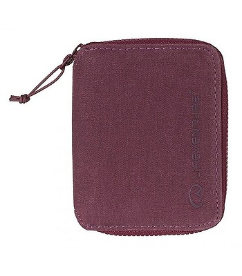 wallet Lifeventure RFiD Bi-Fold - Aubergine