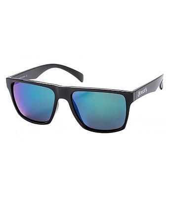 brýle Meatfly Trigger 2 - D/Black Glossy/Green/Polarized