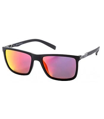 okulary Meatfly Juno 2 - C/Black Matt/Red/Polarized