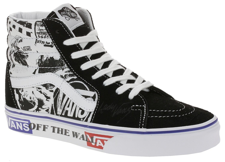 shoes Vans Sk8-Hi - Lady Vans/Black
