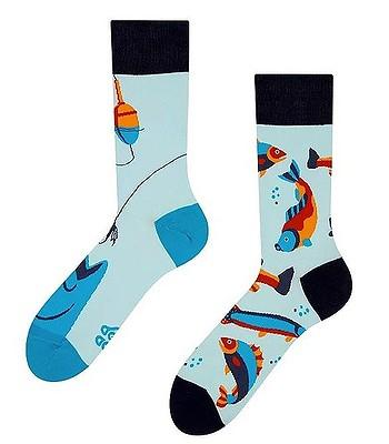 ponožky Good Mood Fishing - Light Blue/Blue/Dark Blue