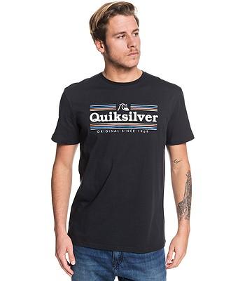 T-Shirt Quiksilver Get Buzzy - KVJ0/Black - men´s