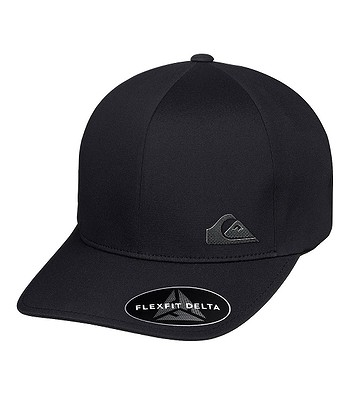 czapka z daszkiem Quiksilver Bondair Flexfit - KVJ0/Black