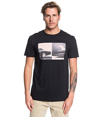 T-shirt Quiksilver High Speed Pursuit - KVJ0/Black