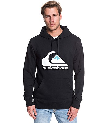 sweatshirt Quiksilver Omni Logo Screen - KVJ0/Black - men´s