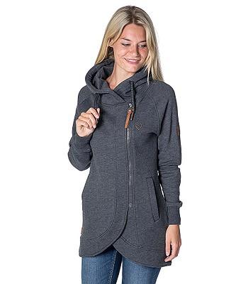 sweatshirt ALIFE AND KICKIN Mary C Zip - Moonless - women´s