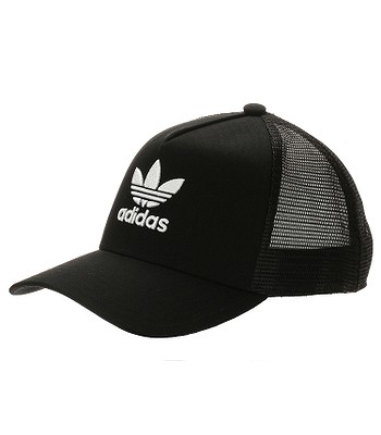 Kappe adidas Originals Aframe Trefoil Trucker - Black - men´s