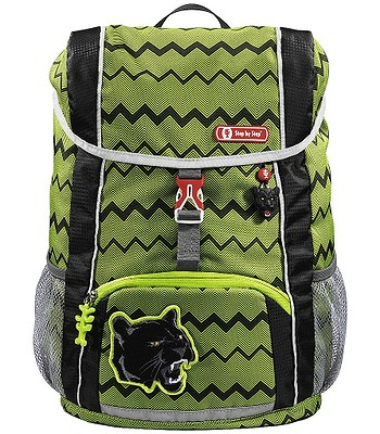 Rucksack Hama - Step By Step 183702/Černý Panter - Green/Black - kid´s