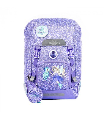 backpack Beckmann Alva 22 - Butterfly/Purple - girl´s