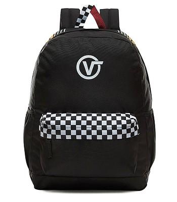 backpack Vans Sporty Realm Plus - Black/Final Lap - women´s