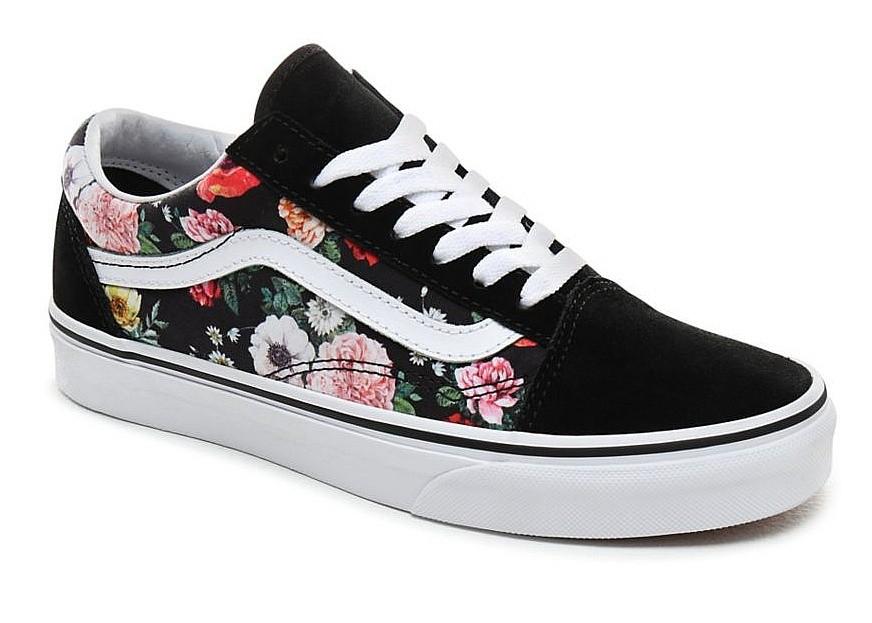 shoes Vans Old Skool - Garden Floral