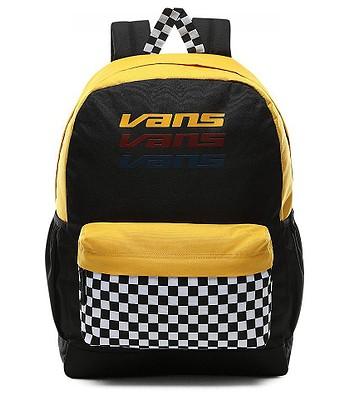 plecak Vans Sporty Realm Plus - Black/Trifecta