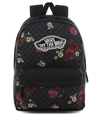 backpack Vans Realm - Botanical Check - women´s