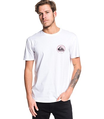 T-Shirt Quiksilver Without Parallel - WBB0/White - men´s