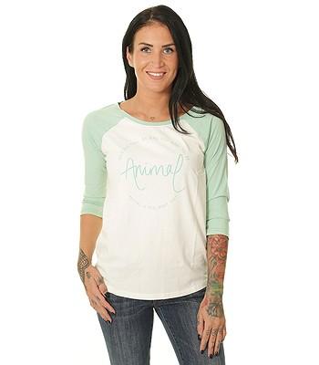 T-Shirt Animal Washout - Wasabi Green - women´s
