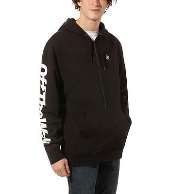 Sweatshirt Vans Distorted Oversized Half - Black - men´s
