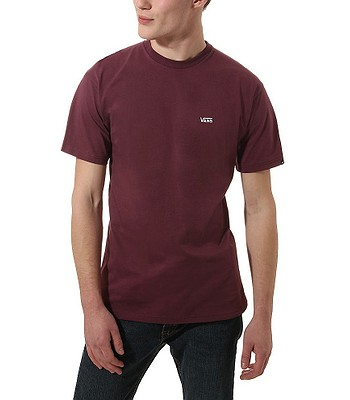 T-Shirt Vans Left Chest Logo - Prune - men´s