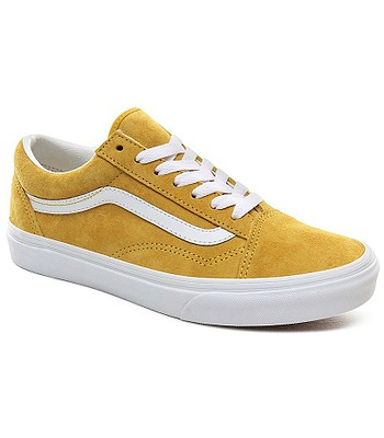 chaussures Vans Old Skool - Pig Suede/Mango Mojito/True White