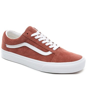 shoes Vans Old Skool - Pig Suede/Burnt Brick/True White