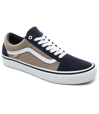 topánky Vans Old Skool Pro - Twill/Dress Blues/Portabella