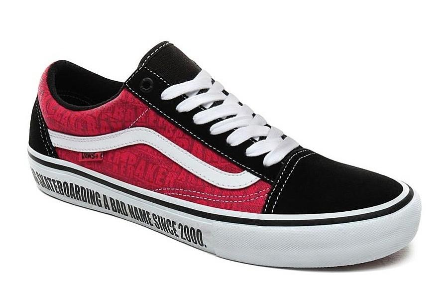 shoes Vans Old Skool Pro - Baker/Black