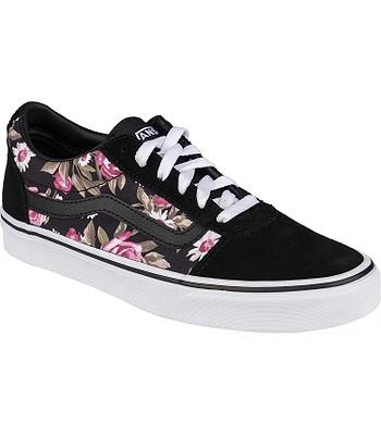 shoes Vans Ward - Roses/Black - women´s