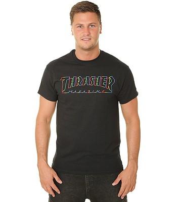 T-Shirt Thrasher Spectrum - Black - men´s