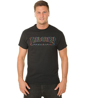 T-shirt Thrasher Spectrum - Black