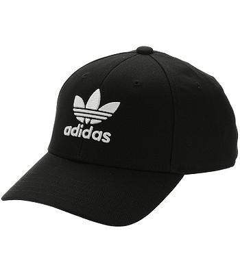Kappe adidas Originals Baseball Classic Trefoil - Black/White - men´s