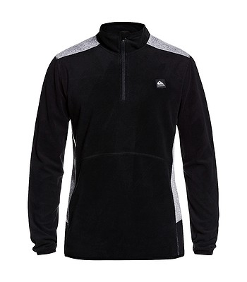 Sweatshirt Quiksilver Aker Fleece - KVJ0/Black - men´s
