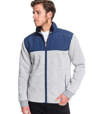sweatshirt Quiksilver Keller Mix Zip - BYK0/Moonlit Ocean - men´s