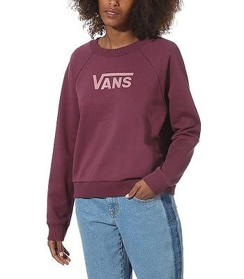sweatshirt Vans Flying V FT Boxy Crew - Prune - women´s