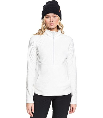Sweatshirt Roxy Cascade - WBB5/Bright White Risingpeak Embos - women´s