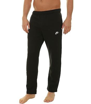 spodnie dresowe Nike Sportswear Club OH BB - 010/Black/Black/White