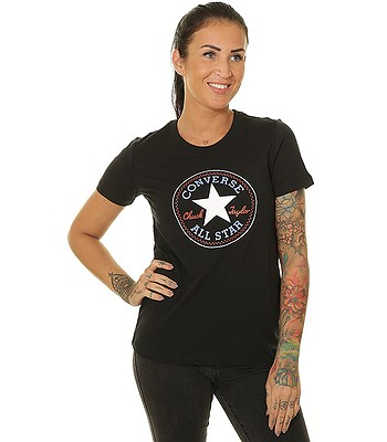 T-Shirt Converse Chuck Patch Nova/10017759 - A03/Converse Black - women´s