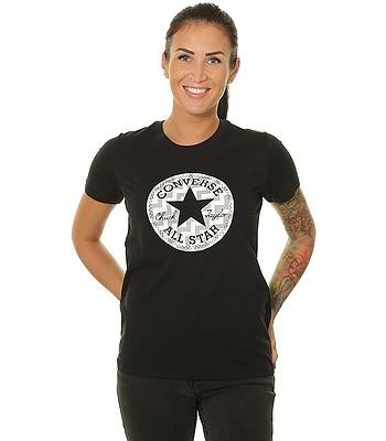 T-shirt Converse Voltage Chuck Patch Nova/10017760 - A02/Converse Black