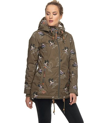 größte Auswahl von 2019 tolle Auswahl kostenloser Versand jacket Ragwear Zuzka Glaid - 5031/Olive - women´s ...