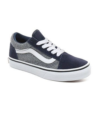 Schuhe Vans Old Skool - Suede/Suiting/Dress Blues - unisex junior