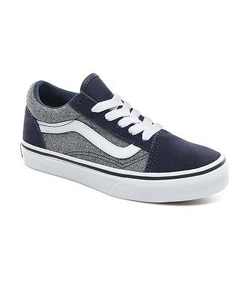 shoes Vans Old Skool - Suede/Suiting/Dress Blues - unisex junior