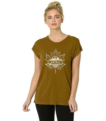 T-Shirt Animal Maple - Breen Green - women´s